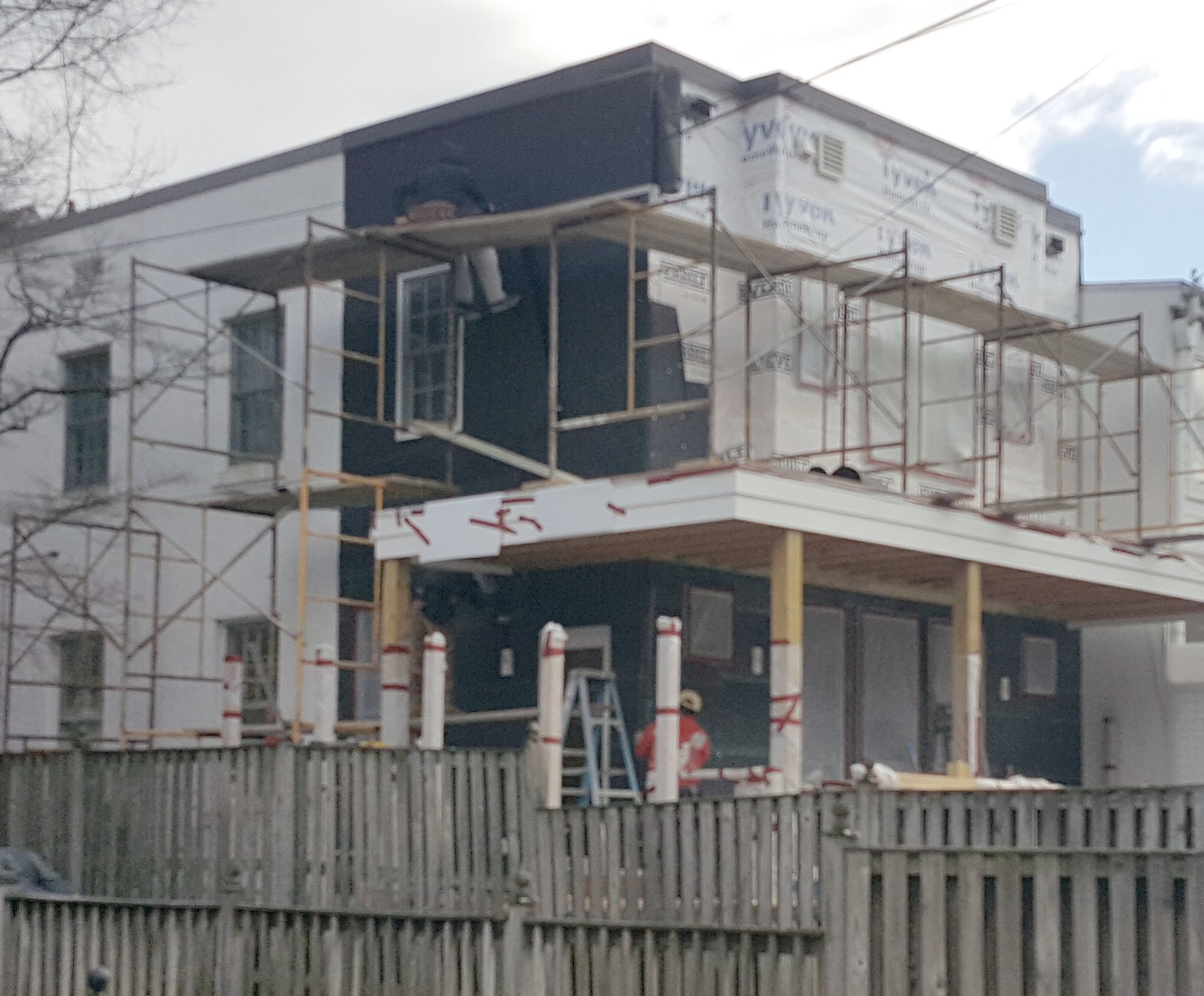 Plaster And Stucco Jobs In Progress February 2018