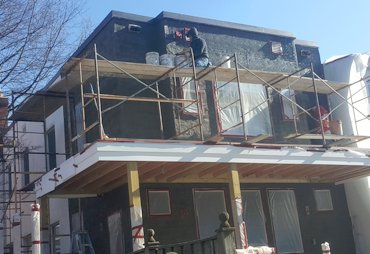 One coat stucco replaced in Washington, DC