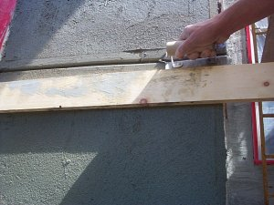 Plaster And Stucco Jobs In Progress July 14 2001 Virginia