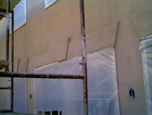 Plaster And Stucco Jobs In Progress March 5 1999 Virginia