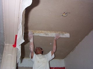 Plaster And Stucco Jobs In Progress May 13 2001 Virginia
