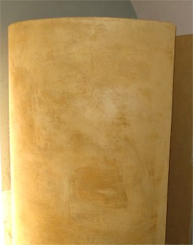 Stucco shower